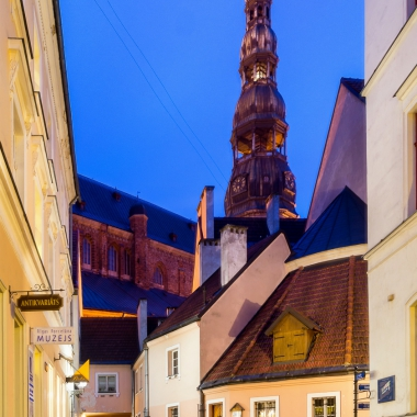 Old Riga town