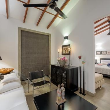 Master villa interior